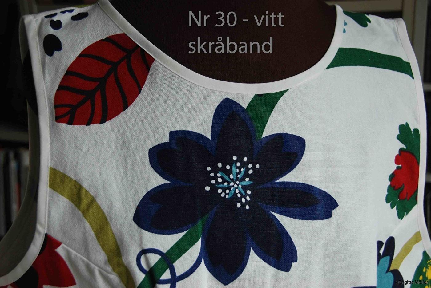 Unikt retroförkläde nr_30