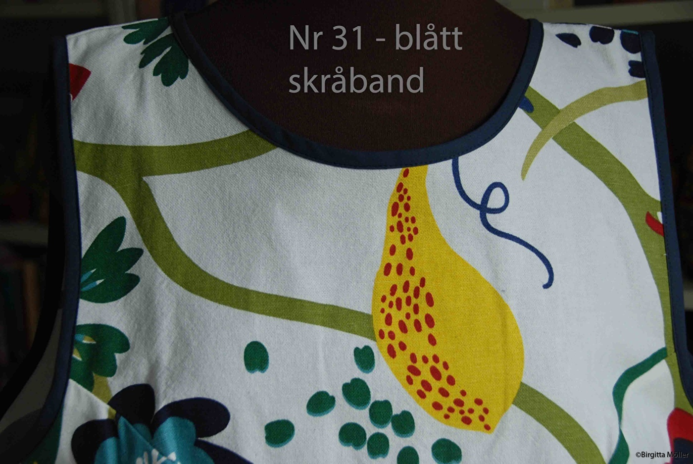 Unikt retroförkläde nr_31