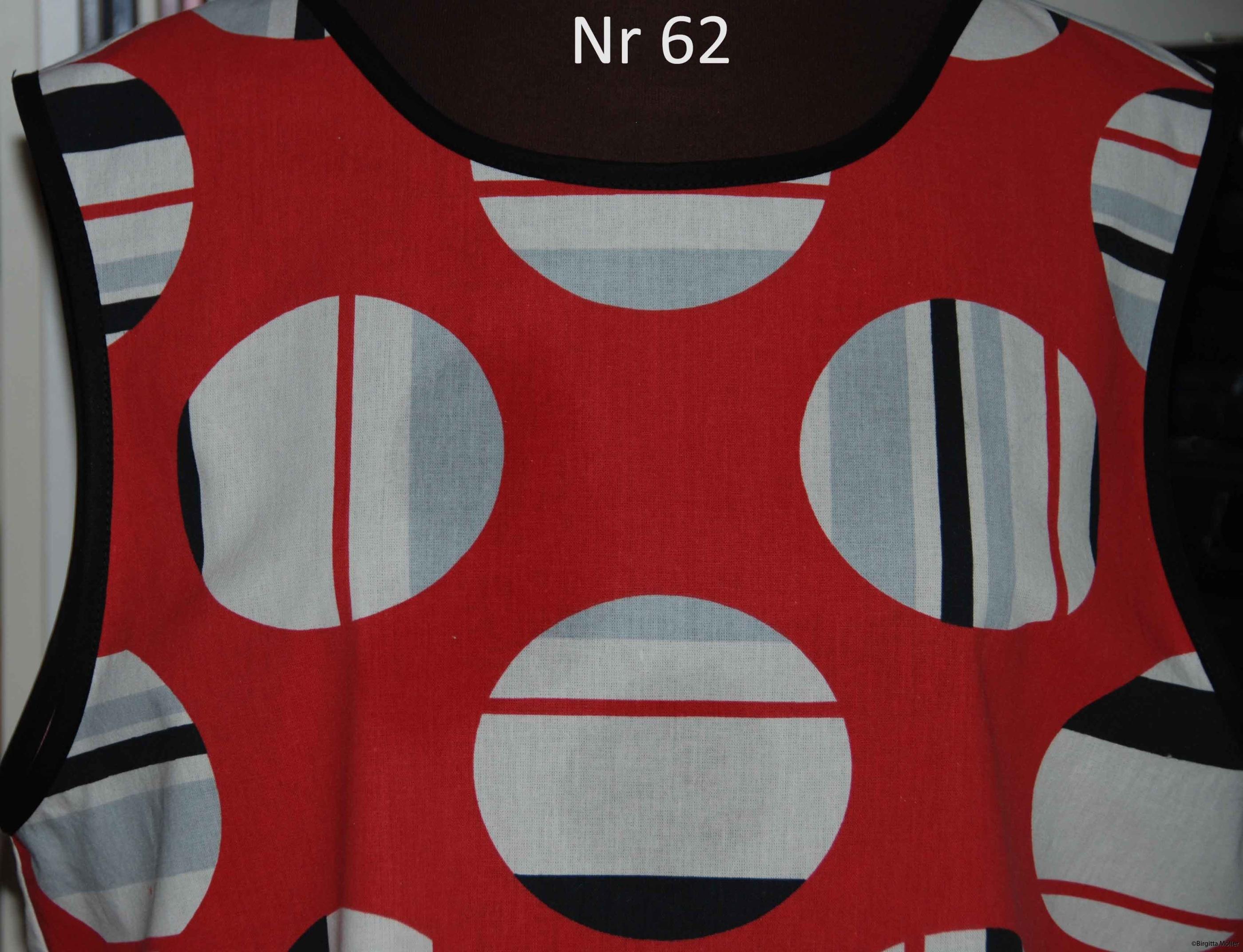 Unikt retroförkläde nr_62
