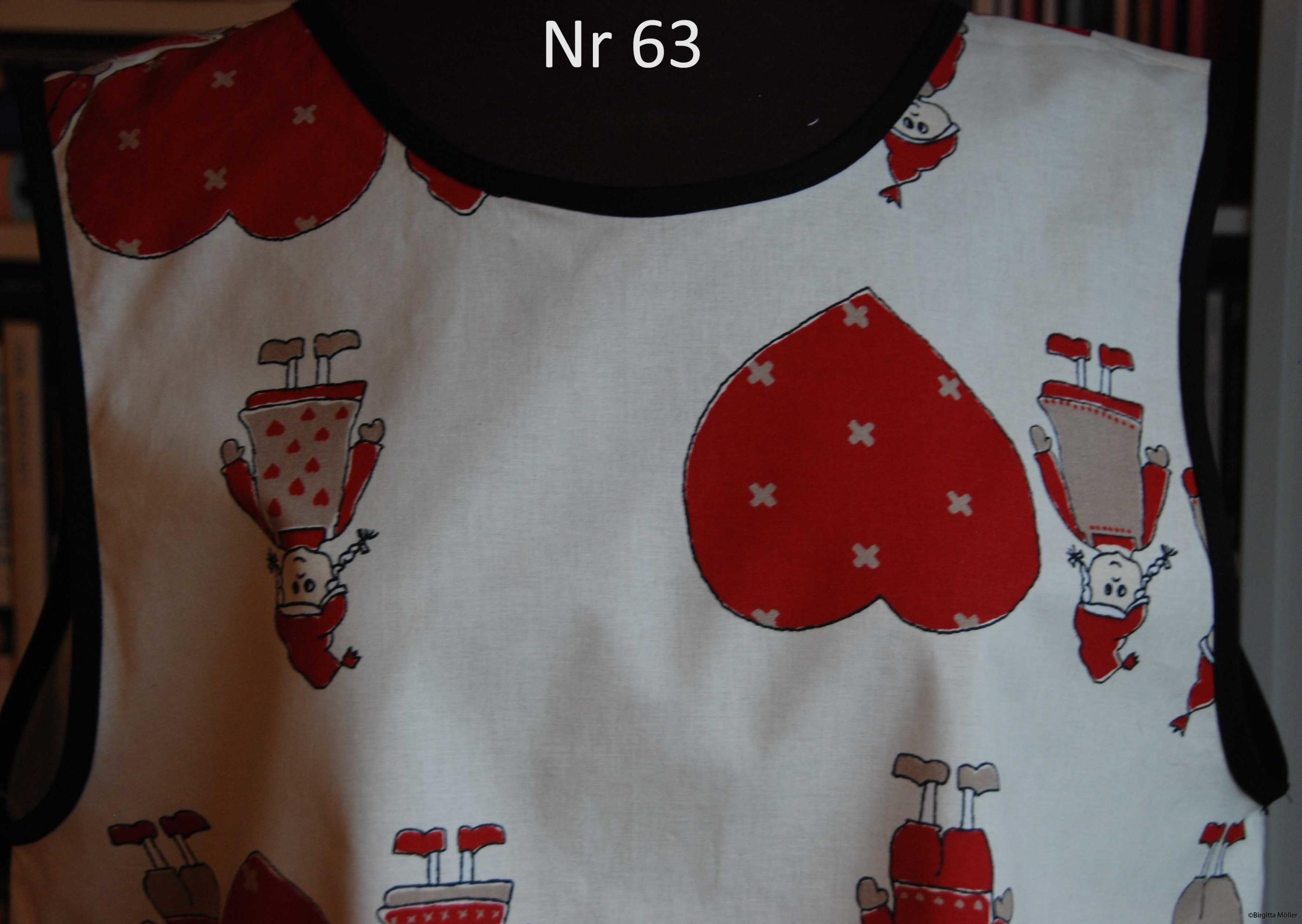 Unikt retroförkläde nr_63
