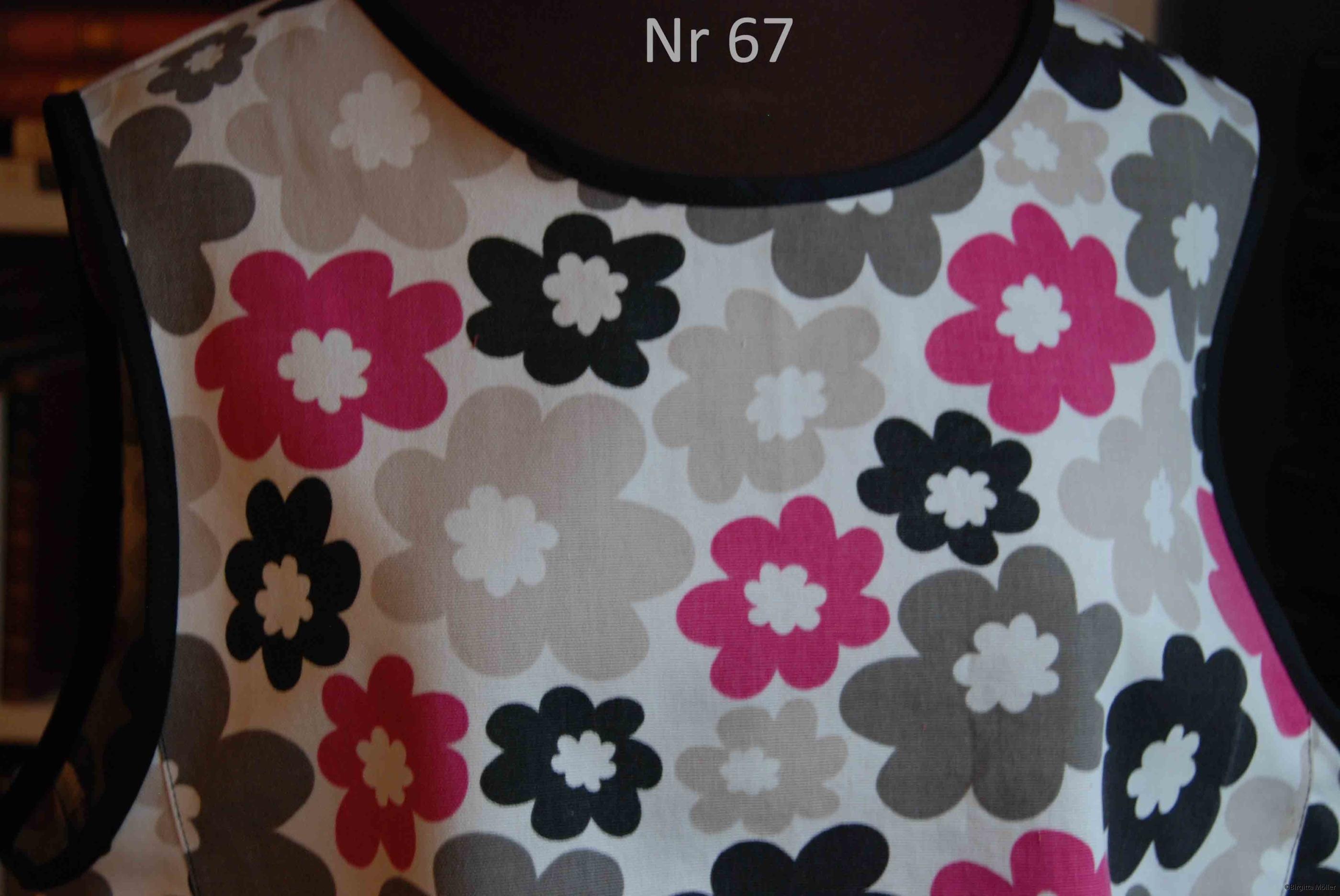 Unikt retroförkläde nr_67