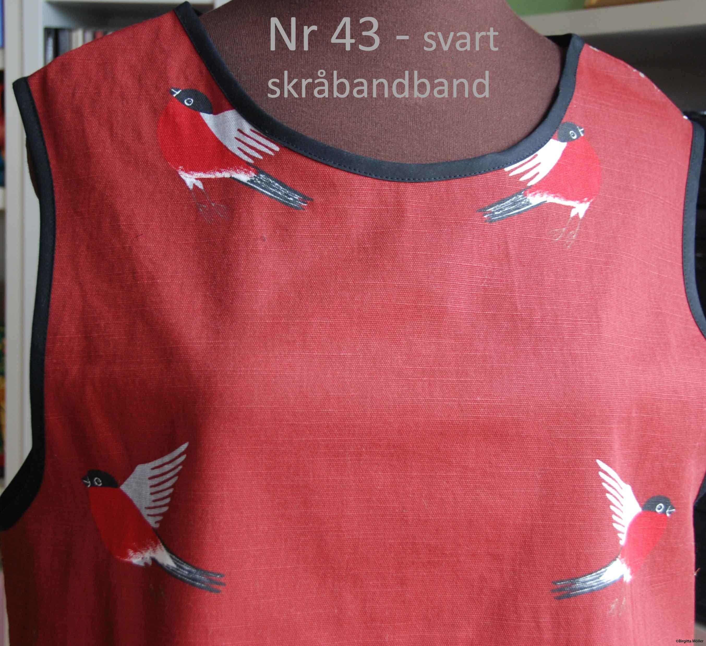 Unikt retroförkläde nr_43b