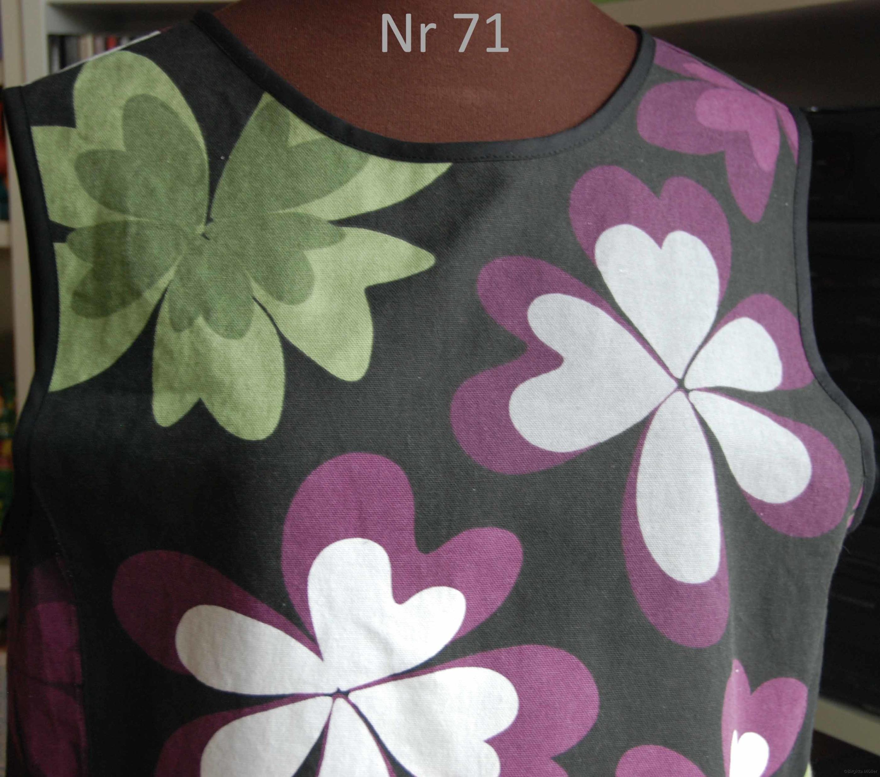 Unikt retroförkläde nr_71