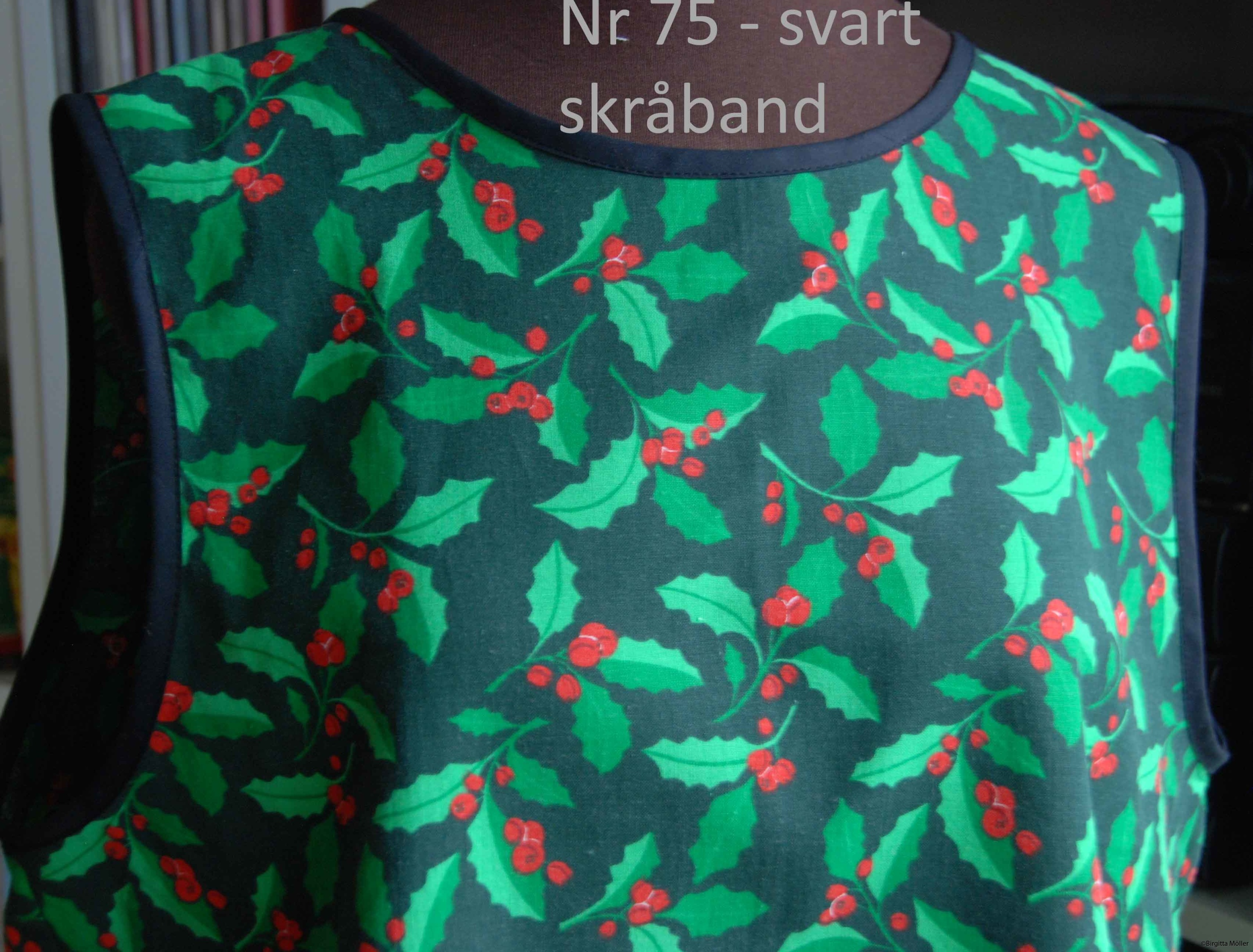 Unikt retroförkläde nr_75