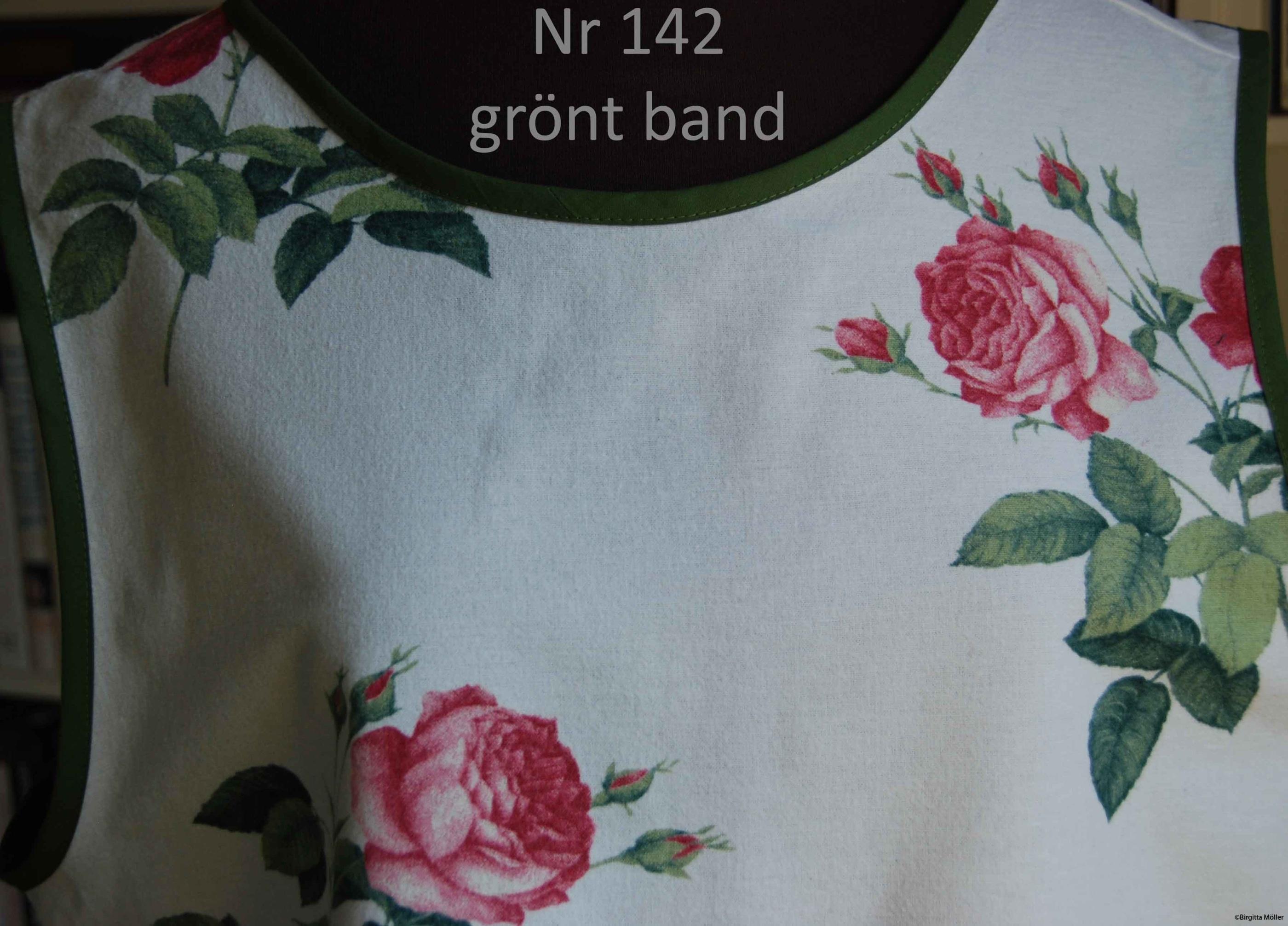 Unikt retroförkläde_142_grönt band