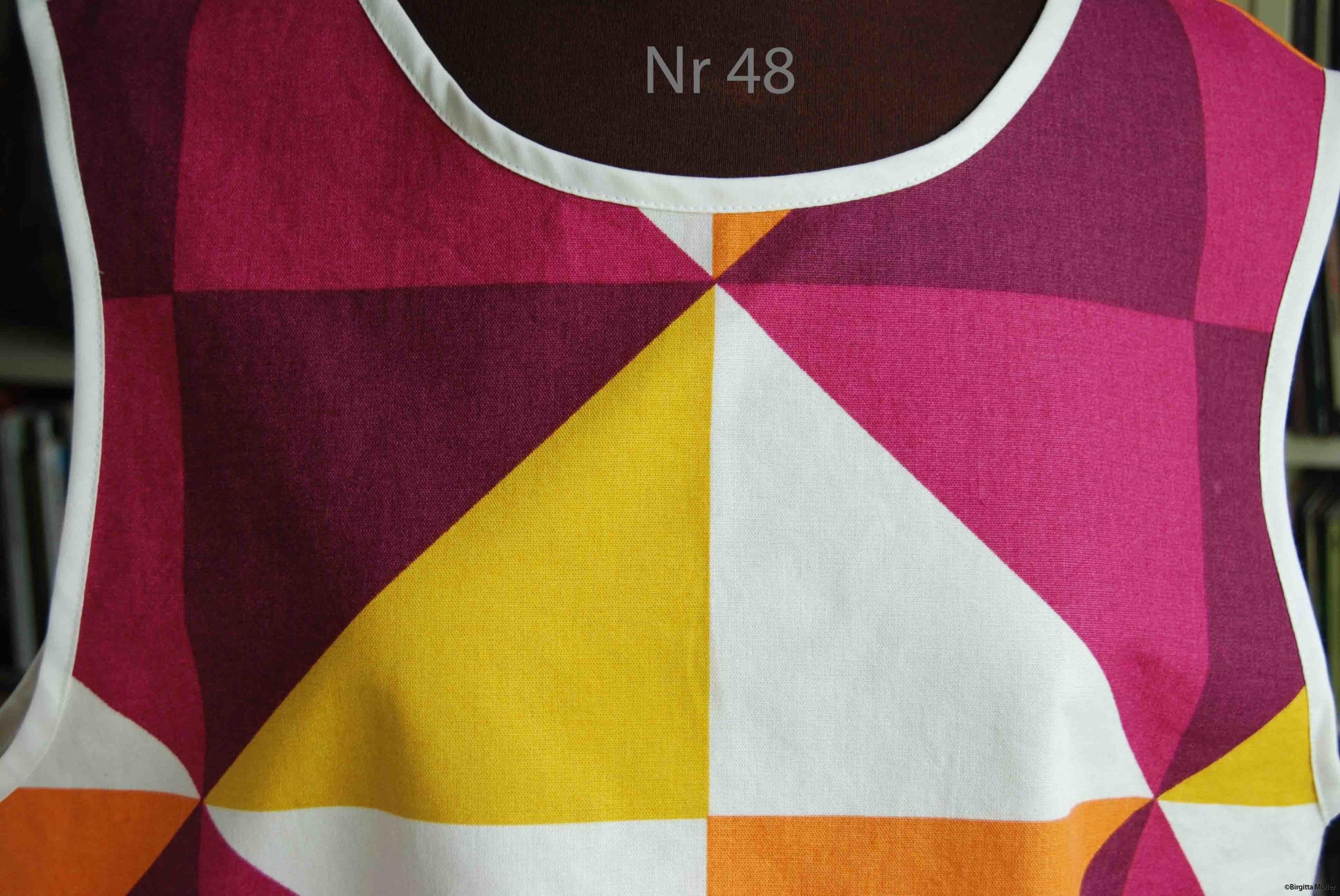 Unikt retroförkläde nr_48