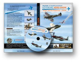 GÖTEBORG AERO SHOW 2008! DVD - Läs mer!