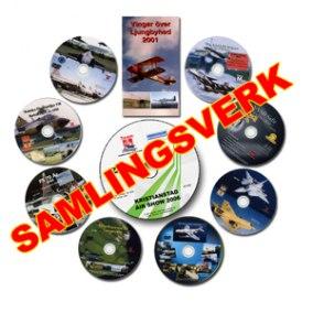 Samlingspaket med 10 flygfilmer från TeamM på DVD!