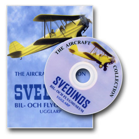 SVEDINOS Aircraft Collection DVD - SVEDINOS Aircraft Collection DVD