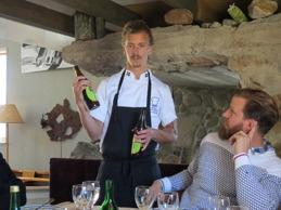 Stjärnkocken Paul Svensson och initiativtagaren Pär Svensson berättar om mat och dryck.