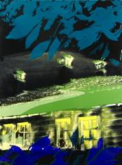 Minne XXIII, 38x50 cm, emalj