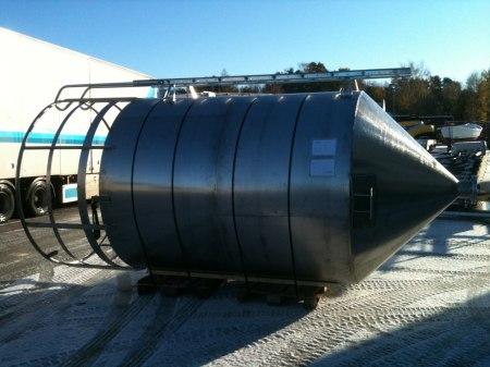 Rostfri silo till biogasanläggning i Norge