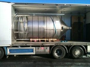 Silo till biogasanläggning i Norge