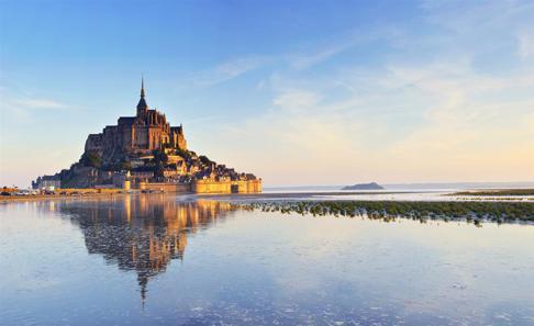 Mont Saint Michel i Bregtagne, Frankrike där jag var för 25 år sedan. Dags att åka till Frankrike igen? Då vet jag vart jag ska bo ialla fall.