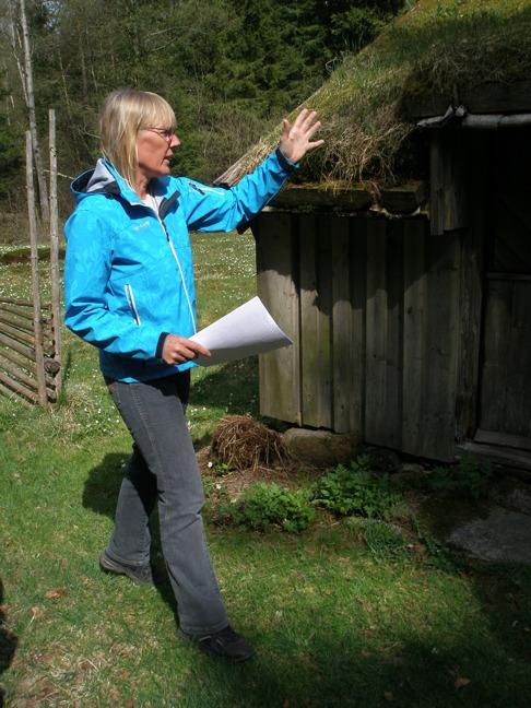Kulturhistoriska Lurehus i Simlångdalen.