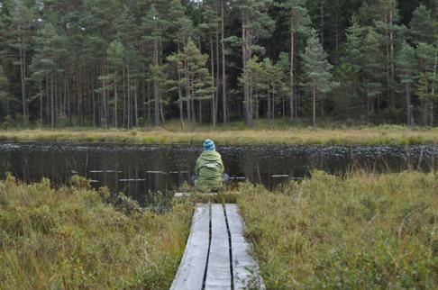 ForRest vid naturhälsoplatsen i Halland