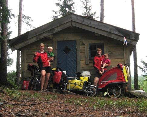 Cykelsemester med familjen i natursköna Simlångsdalen