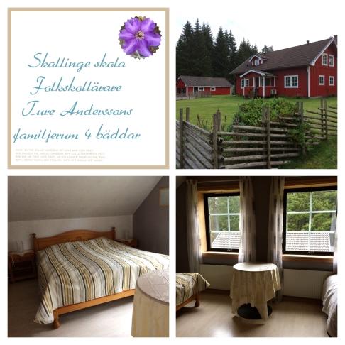 Familjerummet Ture Andersson, stort rum som nu är under renovering. Beräknas klart 2019.