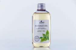 Kanu Nature Massageolja Grönt Te 200ml