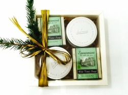 Julbox med Ekologisk tvål Spearmint