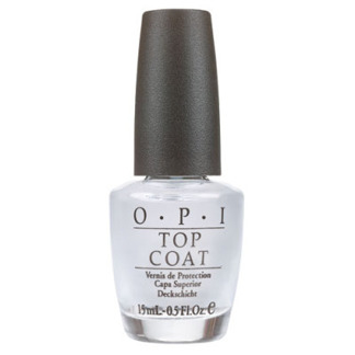 OPI Nail Lacquer Top Coat Halfoz 15ml