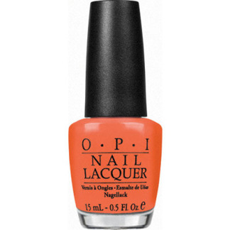 OPI Nail Lacquer Hot Spicey 15ml