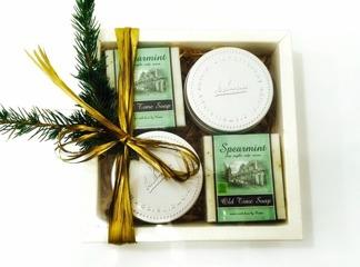 Julbox med Ekologisk tvål Spearmint - Julbox med Ekologisk tvål Spearmint