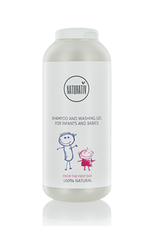 NATURATIV SHAMPOO AND WASHING GEL FOR BABIES AND NEWBORNS 250 ml -