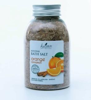 Kanu Nature Mineralbadsalt Apelsin och Kanel 550g - Kanu Nature Mineralbadsalt Apelsin och kanel 550g