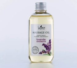 Massageolja Lavendel Sandelträ 200ml