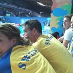 Det svenska laget laddar för tävling