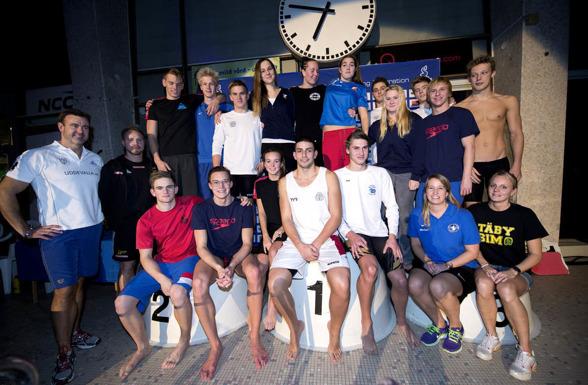 Svenska NJM-laget 2013 (klicka på bilden så blir den större)