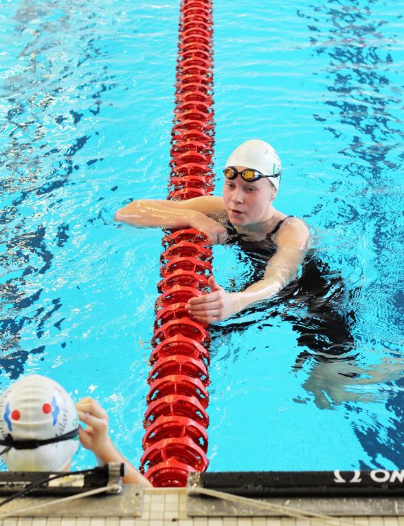 Hanna Bruzell klart snabbast i landet på 200m medley