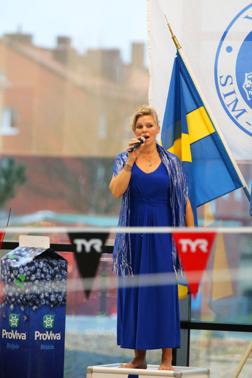 Nationalsång i Ystad