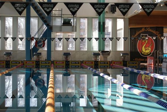 Sporthallsbadet klart för Masters-SM