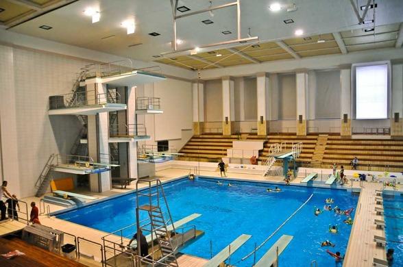 Neptun Simhall står som arena för FINAs andra GP-tävling för detta år.