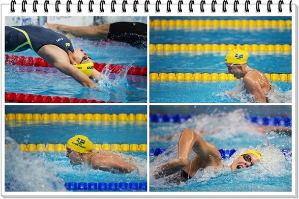 Svenska medleylaget in som treor till kvällens final på 4x100 m