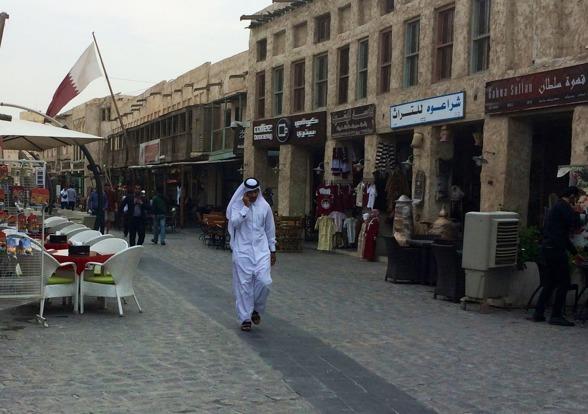 Doha - en bit från Sverige och snålvintern.