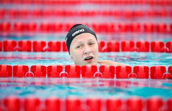 Sarah Sjöström vann 100m fjärilsim