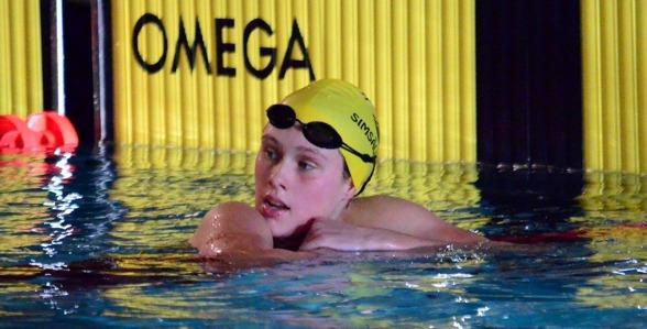 Jönköping: Hanna Eriksson vann dagens första gren