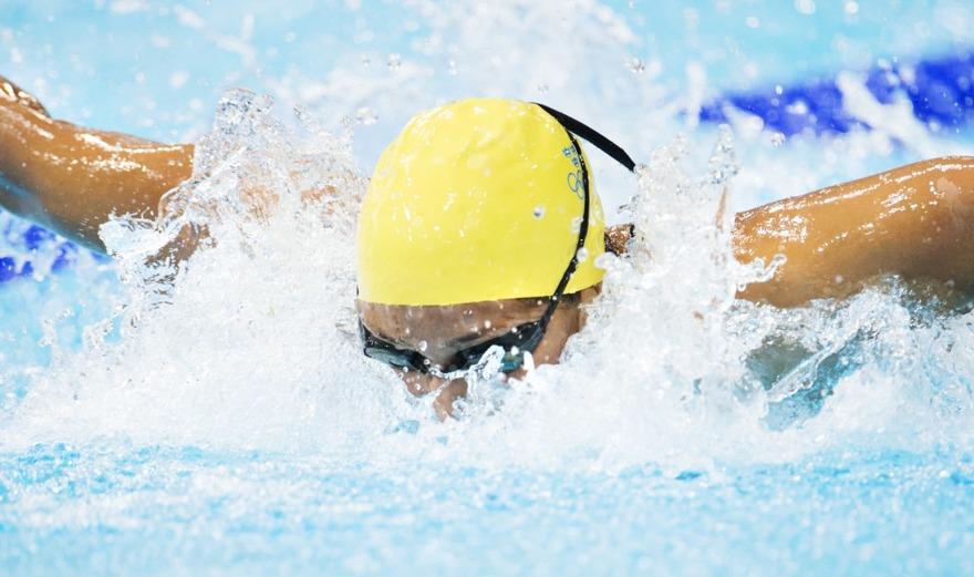 Martina Granström vann 200m medley ikväll.