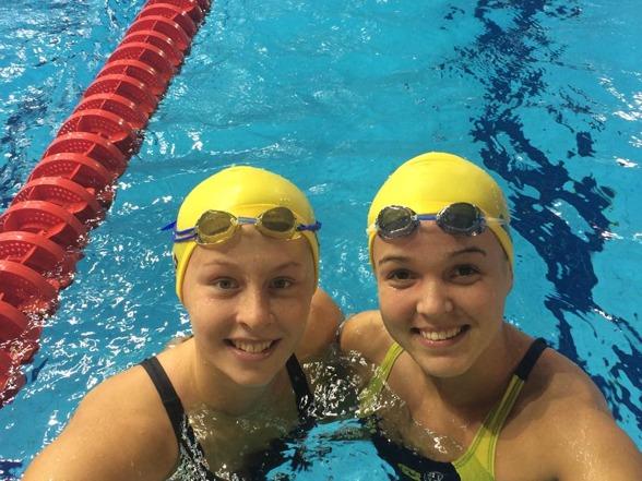 Sophie Hansson och Jaqueline Hi