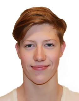 Norske Henrik Christiansen som tog brons på 800m fritt och simmade på finfina 7.57.07.