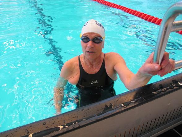 Bitte Axling vann i åldersklassen 65-69 år
