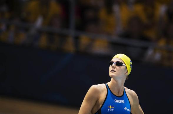 Stina Gardell förbättrade sig i fibalen på 200m medley