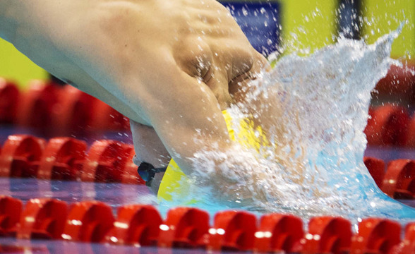Alexander Nysström startar på 100m fritt