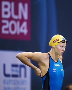 Louise Hansson missade 100m fjäril-semi