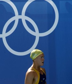 Anna Karin Kammerling OS i Aten 2004