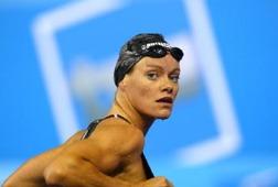 Inge de Bruijn Holland på OS i Aten 2004