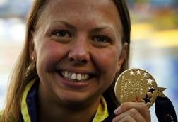 Maria Östling tog EM-guld i Madrid 2004
